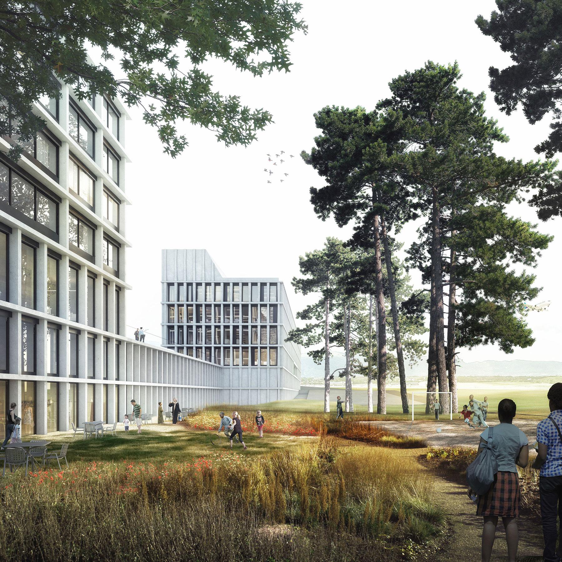 Wunderbar Architekten Basel Referenz Von Administration Building Geneva